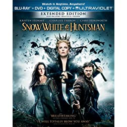 Snow White and the Huntsman (Two-Disc Combo Pack: Blu-ray + DVD + Digital Copy + UltraViolet)