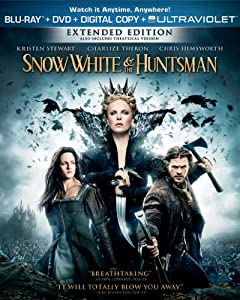 Snow White And The Huntsman Two-disc Combo Pack Blu-ray Dvd Digital Copy Ultraviolet from Universal