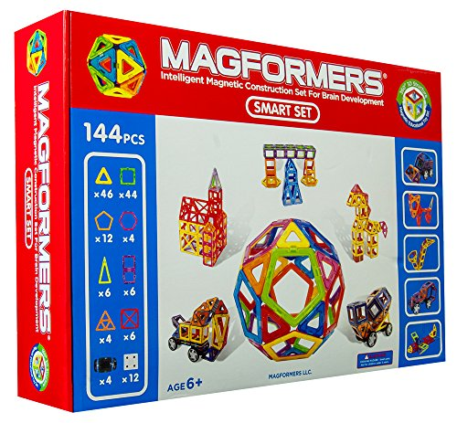 Magformers Smart Set 144 Pieces front-820012