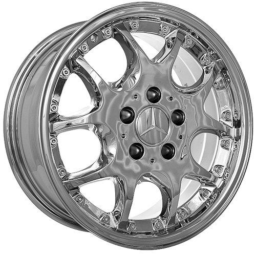 16 Inch Mercedes Wheels Rims Chrome (set of 4)