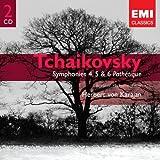 Tchaikovsky: Symphonies 4, 5 & 6 'Pathétique'
