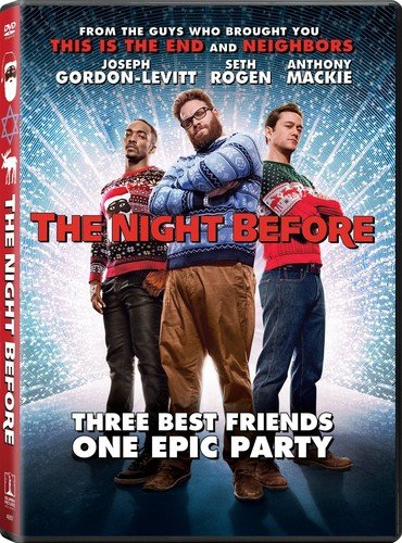 DVD : The Night Before (Ultraviolet Digital Copy, Dolby, AC-3, Dubbed, )