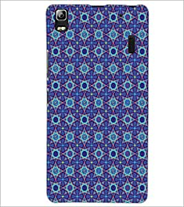 LENNOVO A7000 PLUS STAR PATTERN Designer Back Cover Case By PRINTSWAG