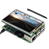 UCTRONICS 3.5 Inch TFT LCD Display SPI with Touch Screen, Touch Pen for Raspberry Pi 3 Mode B, Pi 2 Model B, Pi Zero, Pi B+