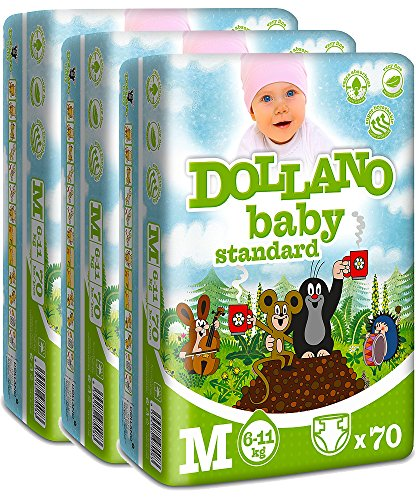 dollano-baby-nappies-standard-panales-para-bebes-estandar-sin-latex-sin-cloro-tamano-m-6-11kg-paquet