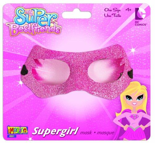 My Super Best Friends Supergirl Glitter Mask