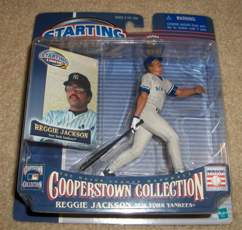 2000 Reggie Jackson MLB Cooperstown Collection Starting Lineup 2