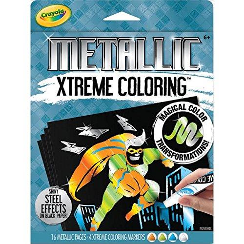 Crayola Metallic Coloring Kit