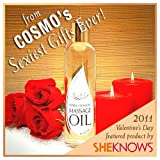 "NaturOli ""Warm and Sensual Massage Oil"" - 8-oz. Remarkably suited for intimacy! - Chosen by ""Cosmo"" as a ""Sexiest Gift Ever!"""