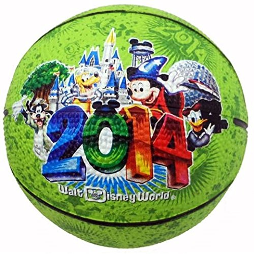Walt Disney World 2014 Mickey Mouse Pluto Goofy Donald Duck Mini Basketball 44f1994919ad
