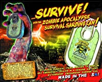 Zombie Apocalypse Survival Kit in a Sardine Can by Other Manufacturer