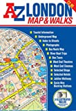 img - for A-Z London Map and Walks (Street Maps & Atlases) book / textbook / text book
