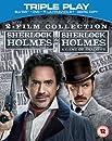 Sherlock Holmes [2009] / Sherlock Holmes: A Game of Shadows [2011] (Blu-ray + DVD) [Region Free]