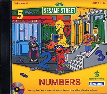 Sesame Street Numbers (Jewel Case)