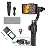 Zhiyun Smooth 4 Smartphone Stabilizer 3 Axis Handheld Gimbal Stabilizer with Adapter for iPhone x 8 7 6plus Samsung Galaxy S8 Note 8/GoPro Hero 6/5/4/3(The Latest Version +Action Camera Adapter) (Color: Smooth4+adapter)