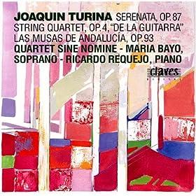 Las Musas de Andaluc�a, Op. 93: IV. Polimnia, Musa de las alabanzas divinas: Nocturno for Cello & Piano: Lento