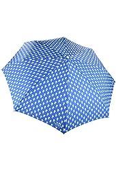 Coach Limited Edition Badlands Floral Print Umbrella 63698 Blue Multicolor
