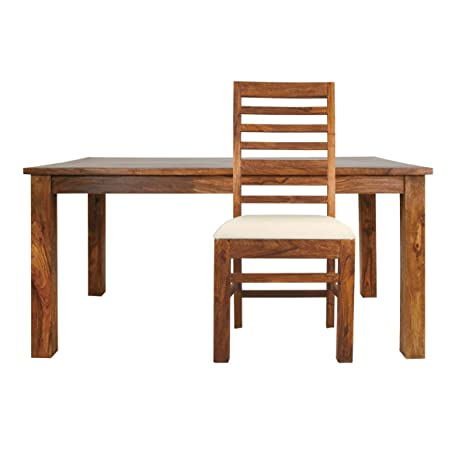 Mallani Small Dining Table with 4 Upholstered Chairs