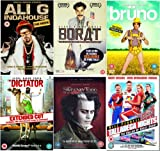 The Complete Sacha Baron Cohen DVD Collection: Ali G - Indahouse / Borat / Bruno / Dictator / Sweeney Todd / Talladega Nights