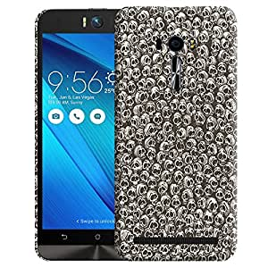 Theskinmantra unity of skulls back cover for Asus Zenfone Selfie