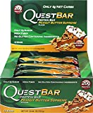 Quest Nutrition Quest Protein Bar Peanut Butter Supreme 12-2.12 oz (60g) Bars