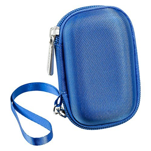 Caseling Carrying Hard Case for Sandisk Clip Jam / Sansa Clip Plus / Clip Sport MP3 Player. – Apple Ipod Nano, Ipod Shuffle. – Blue