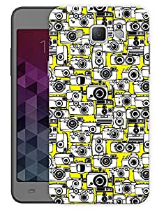 """Humor Gang Lots Of Cameras Printed Designer Mobile Back Cover For """"Samsung Galaxy E5"""" (3D, Matte, Premium Quality Snap On Case)"""