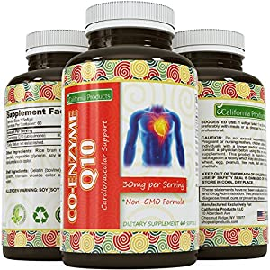 Coq10 Liquid Concentrate Softgel with Ubiquinone for Cardiovascular & Immune Support - Wellness Vitamins for Women and Men - Antioxidant Supplement for Beautiful Skin- Healthy Cell Maintenance