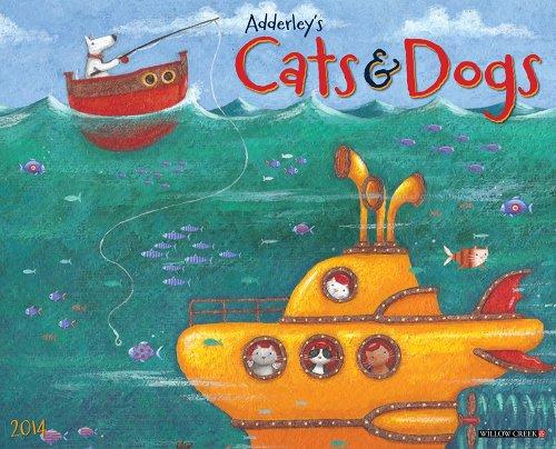 Adderley Cats & Dogs Calendar 2014