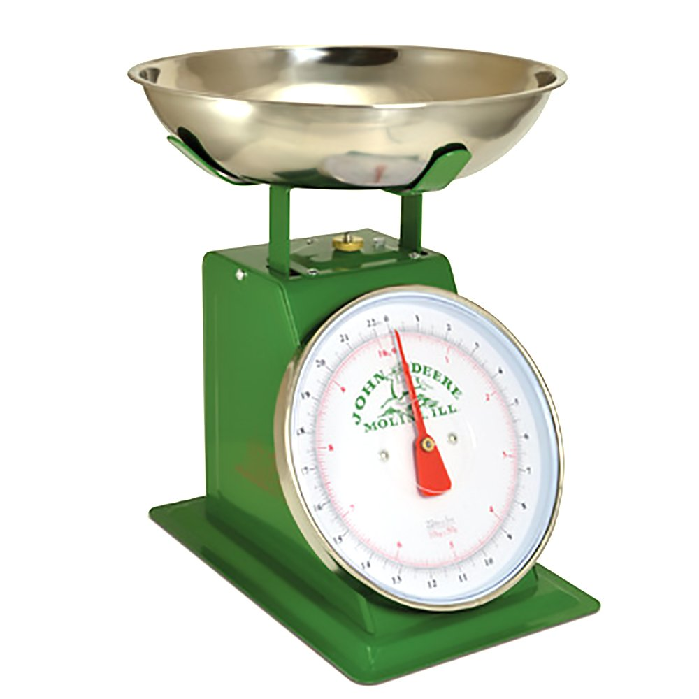 John Deere 22LB Vintage Metal Green Produce Scale 0