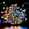 Qedertek 200LED Solar Christmas Lights