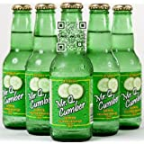 Mr. Q. Cumber Sparkling Beverage - 7oz Bottles (Pack of 12)