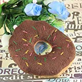 Hunde und Welpenspielzeug Plüschtier Donut mit Quietschie