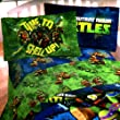 Teenage Mutant Ninja Turtles Twin Sheet Set ~ TMNT Bedding by TMNT