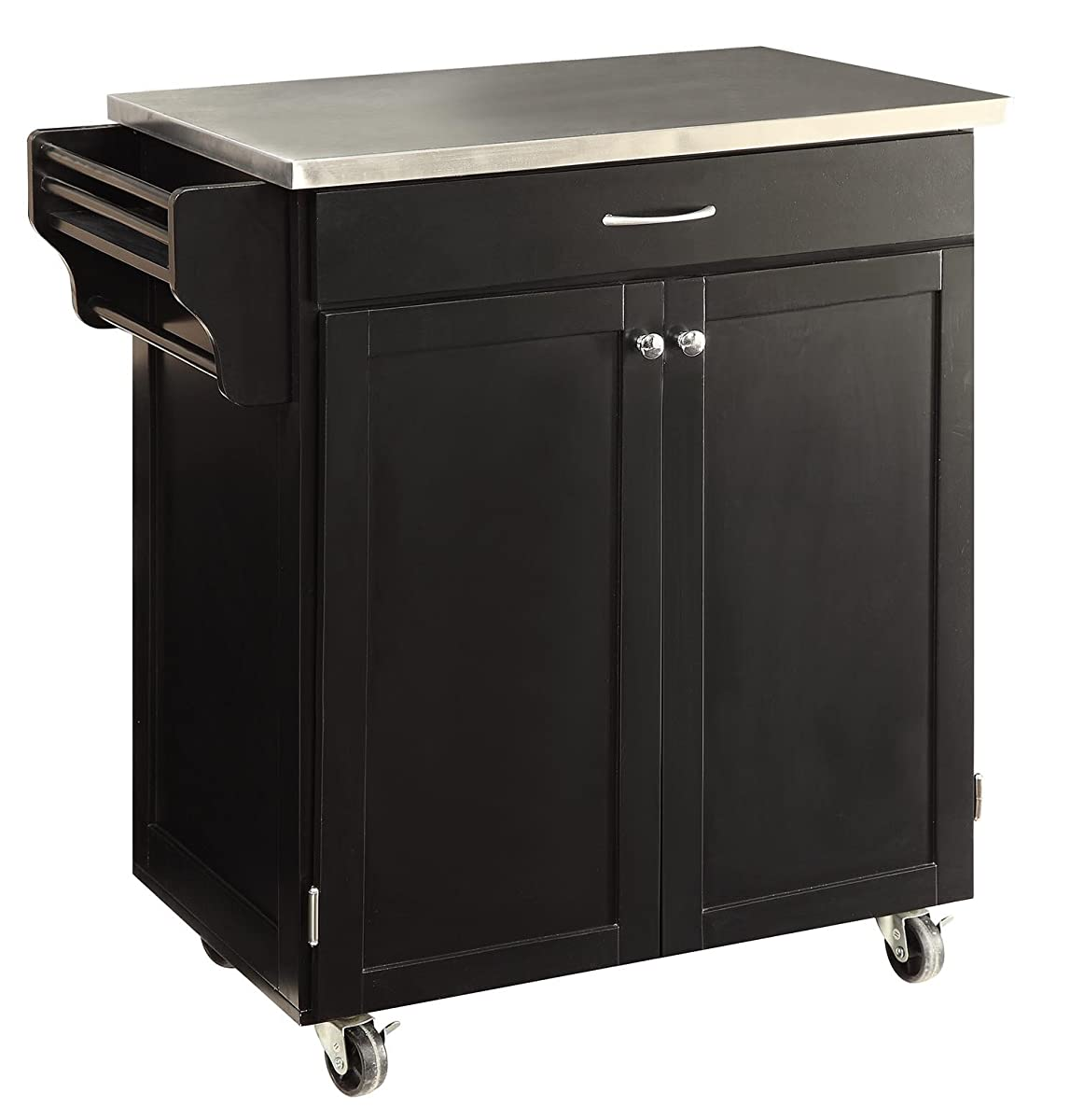 Oliver and smith nashville collection mobile kitchen for Kitchen units on wheels