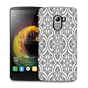 Snoogg Amazed Grey Pattern Designer Protective Phone Back Case Cover For Lenovo Vibe K4 Note
