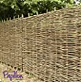 Hazel hurdles fencing panel 3ft x 6ft