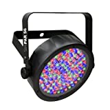 CHAUVET DJ SlimPAR 56 LED PAR Can Wash Light w/Built-In and Sound Activated Modes (Color: Black)