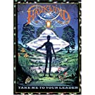 HAWKWIND - TAKE ME TO YOUR LEADER CD/DVD JEWEL CASE