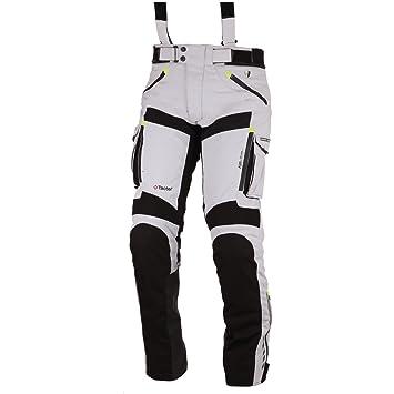 Modeka tACOMA pantalon-gris clair