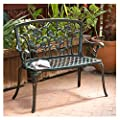 Saint Kitts Aluminum Garden Bench from NFusion