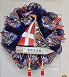 New Full Premium Handmade Nautical Sailing Wreath