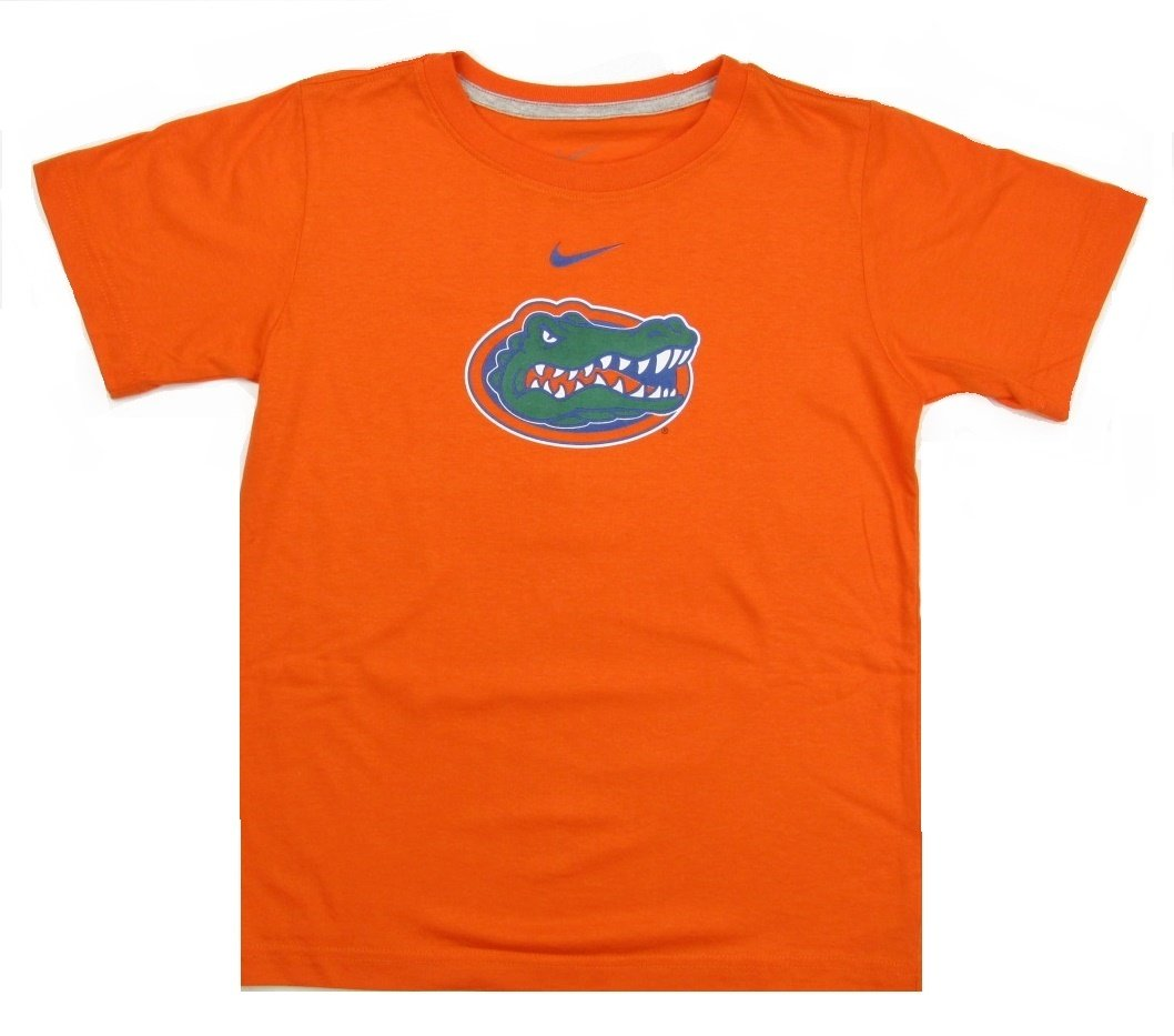 Florida Gators Nike Youth Boys Logo T Shirt Orange Ebay