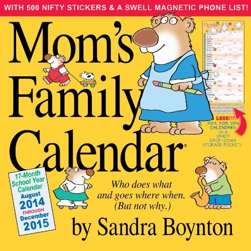 Mom's Family Calendar 2015 image