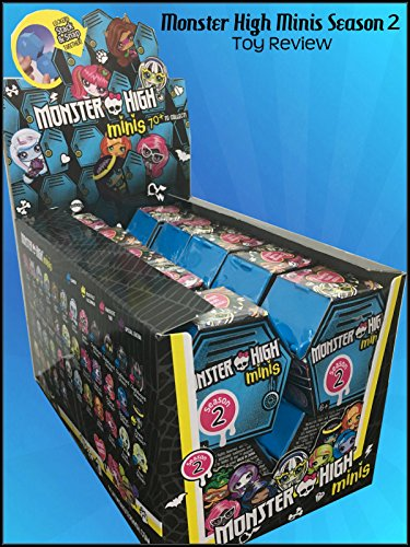 Review: Monster High Minis Season 2 Toy Review