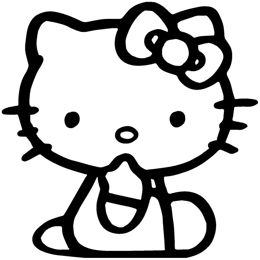 Hello Miss Kitty Coloring Pages : Free coloring pages of zombie hello kitty