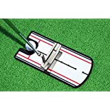 Golf Putting Alignment Mirror Training Aid - Portable Practice Putting Anywhere Training Aids Tool