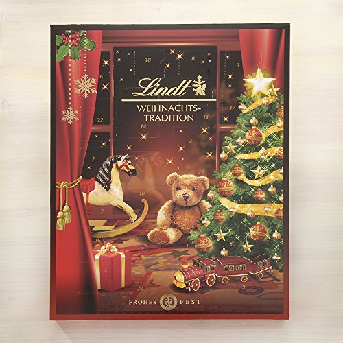billig lindt weihnachtstradition adventskalender 1er pack 1 x 253 g g nstig shoppen. Black Bedroom Furniture Sets. Home Design Ideas