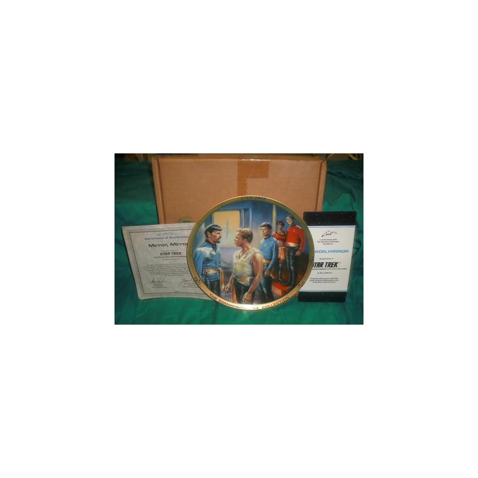 Star Trek MIRROR, MIRROR Collectors Plate