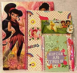 Disney Fairies 4-pc Stationery Set with Pen